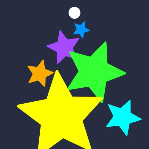 반짝반짝한 작은 별들로 아기자기한 분위기를 꾸며보세요