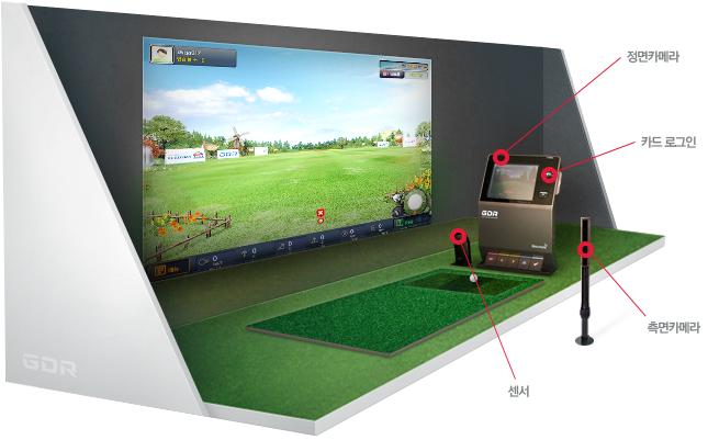 세상에 없던 골프연습 시뮬레이터 GDR