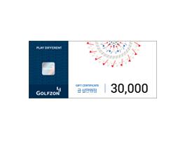 골프존 모바일 이용권 3만원