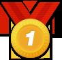 1등 메달