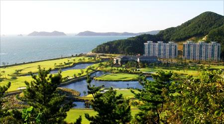 서해안의 해양성 기후와 비치 골프장